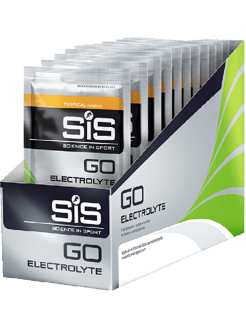 SiS GO Electrolyte - Nutrition sport - Tropical 18 x 40g